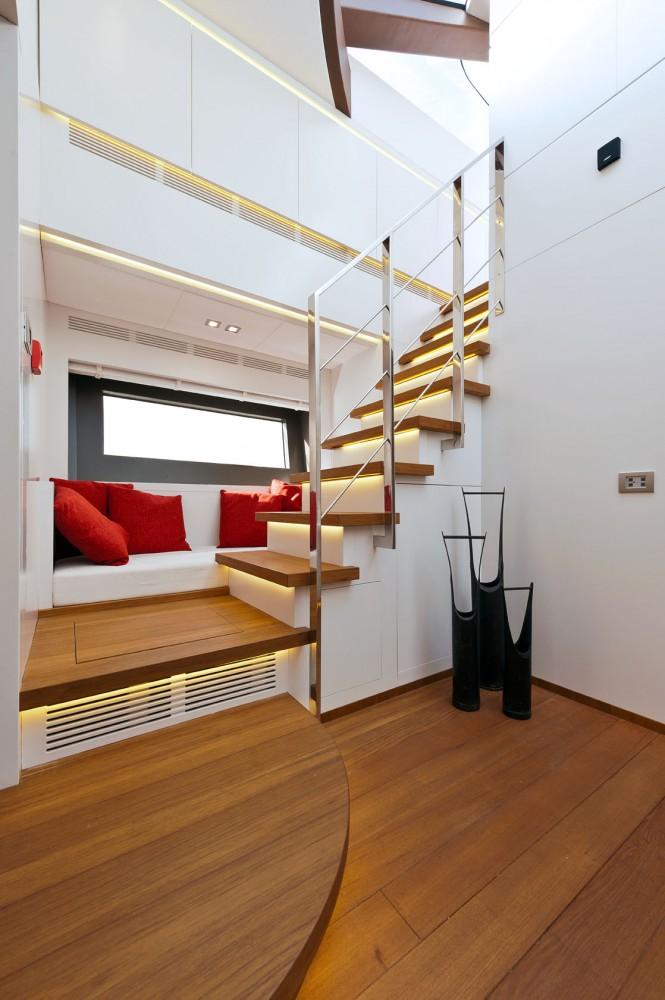 Diamond Yacht - Staircase