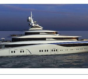 Dorries Maritime Services' first platform based on 85m Blohm&Voss mega yacht GRACEFUL ready