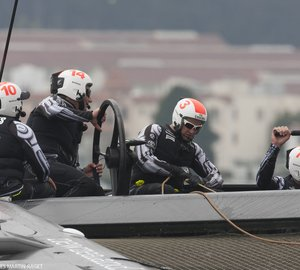 Louis Vuitton Cup 2013: Fourth point for Emirates Team New Zealand