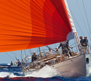 A great success of Royal Huisman's Huisfit-refitted HEARTBEAT Yacht at Superyacht Cup Palma 2013