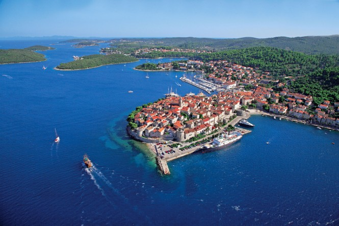 Korcula in Croatia