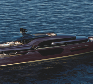 Admiral Tecnomar presents first Superyacht in the ENVY yacht series developed with Vripack
