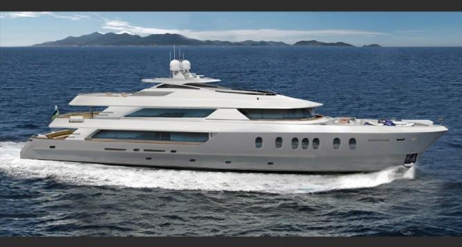 Luxury yacht Hemisphere 140 by MCP Yachts