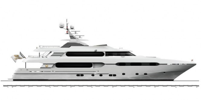 New 45m superyacht Project Sunset by Sunrise Yachts