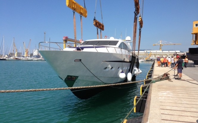 New Azul 31 superyacht Special K by Leopard Yachts ready to hit the water