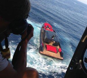 Maori Yachts launch first Maori 78' BLACKMAIL mega yacht tender