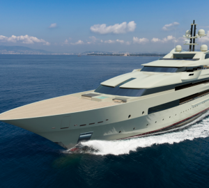 Breath-taking 91,5m Oceanco mega yacht DP031 concept