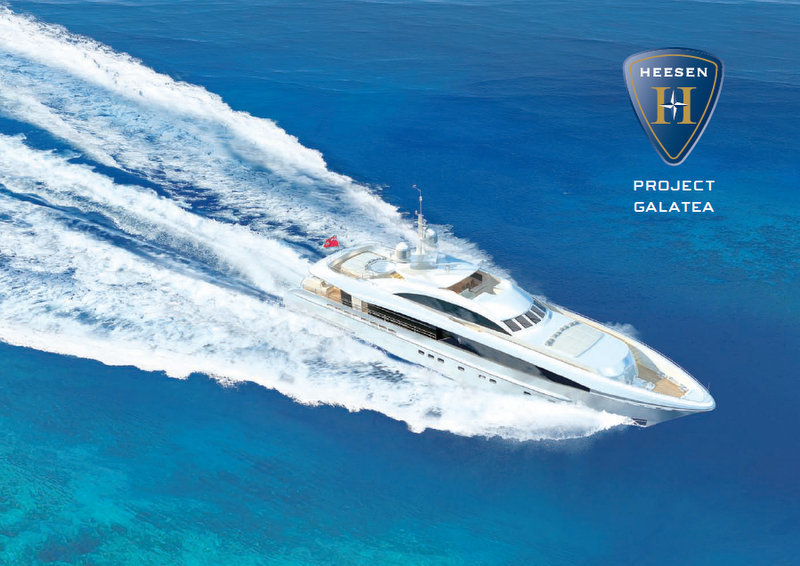 Project Galatea Yacht - Upview