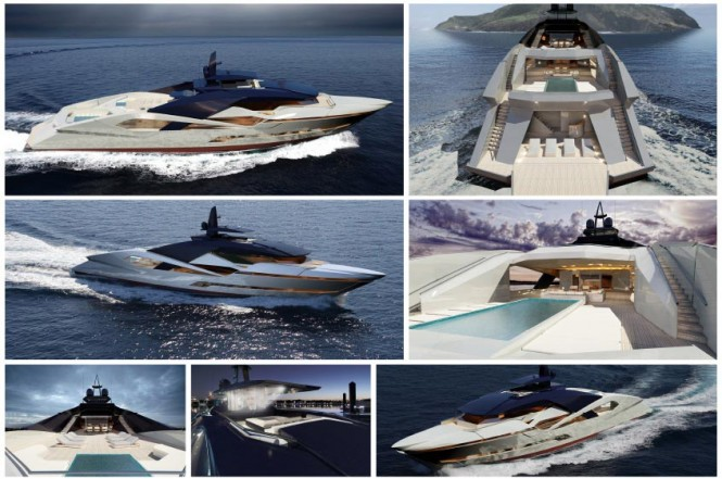 Project Granturismo Yacht designed by Stefano Inglese