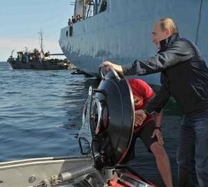 Russian President investigates wreck in C-Explorer 5 mini-submarine by U-Boat Worx