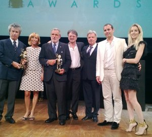 ShowBoats Design Awards 2013 for ASLEC4 Yacht designed by Studio Spadolini