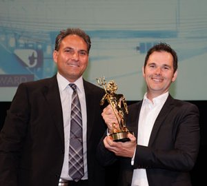 Holland Jachtbouw receive ShowBoats Design Award 2013 for RAINBOW Yacht's Hybrid Power and Propulsion System