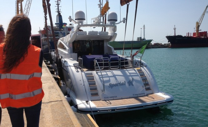 Special K Yacht - aft view