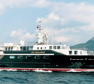 Derecktor Florida starts refit of classic 150' Feadship Yacht THE HIGHLANDER
