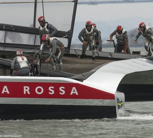 Louis Vuitton Cup 2013: Fourth point for Luna Rossa Challenge