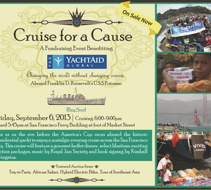 YachtAid Global to host fundraising cruise aboard historic presidential yacht U.S.S. Potomac