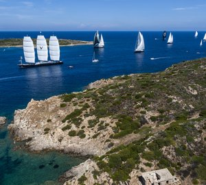 Perini Navi Cup 2013: Line honours for superyacht P2, overall lead for luxury yacht Silencio