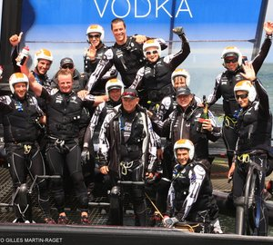 Second consecutive Louis Vuitton Cup won by Emirates Team New Zealand