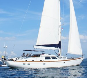 Sailing yacht GOLDEN OPUS created by Ron Holland