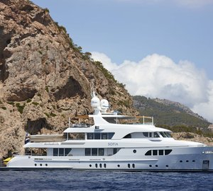 Moonen announces official delivery of 42m motor yacht SOFIA