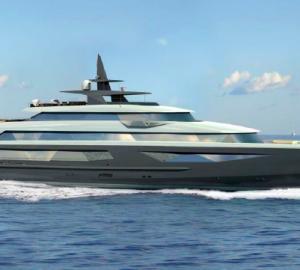 86m motor yacht ADAMANTINE - Ivan Erdevicki superyacht concept