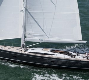 New sailing photos of Baltic 107 Yacht INUKSHUK designed by German Frers