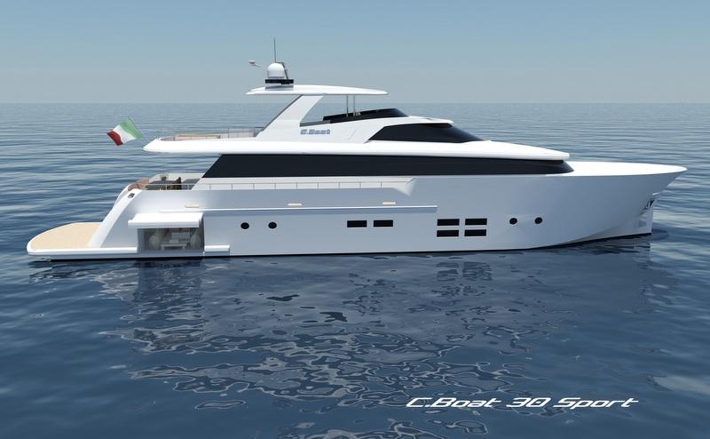 C.Boat 30 Sport Yacht