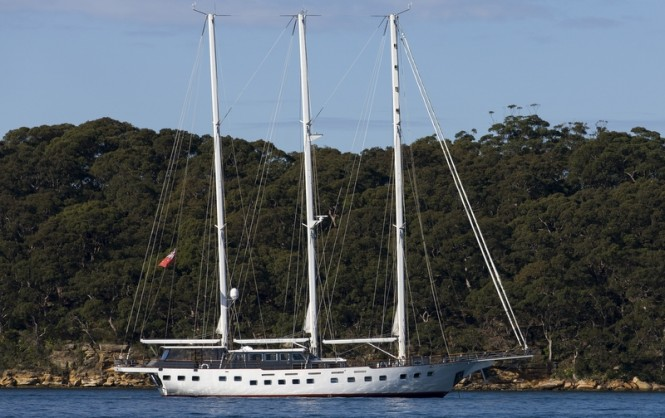 Charter yacht Southern Cloud in Sydney - Image credit to Andrea Francolini