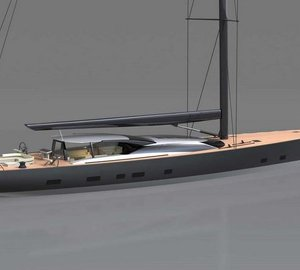 Vitters launch 46m sailing yacht GANESHA (hull 3067) designed by Dubois