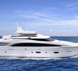 Horizon RP110 luxury yacht ANDREA VI to make her premiere at FLIBS 2013