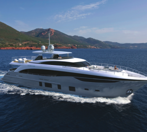 First hull of Princess 35M Yacht sold by Princess Yachts
