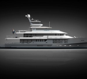 McMullen & Wing's new designs for 50m project BIG STAR Yacht