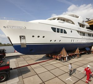 Moonen luxury yacht SOFIA to make her premiere at Monaco Yacht Show 2013