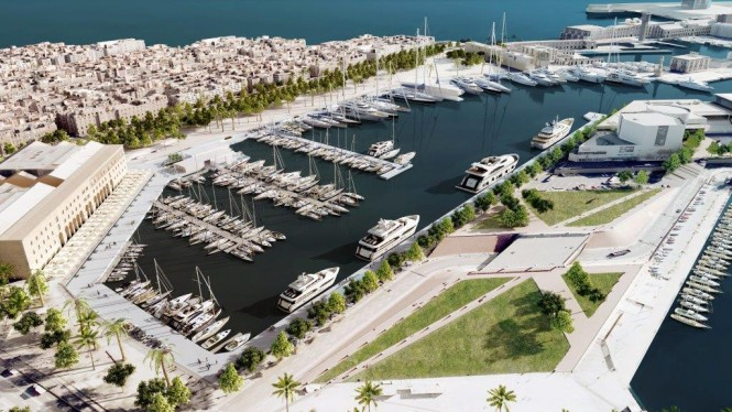 Overall Image of MPV - Copyright 2013 Marina Port Vell