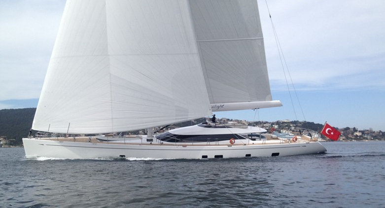 Oyster 125 Yacht Twilight designed by Dubois