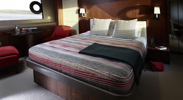 Princess 82 motor yacht owner cabin