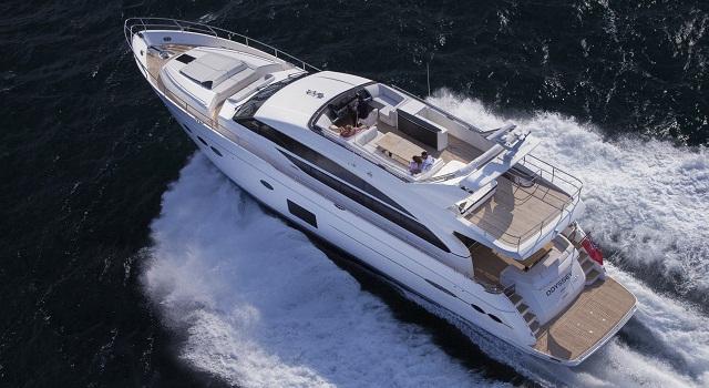Princess 82 yacht