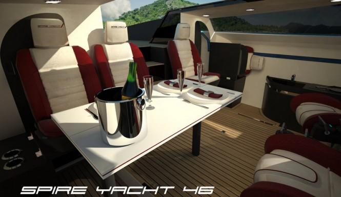 SPIRE YACHT 46 superyacht chase boat - Interior