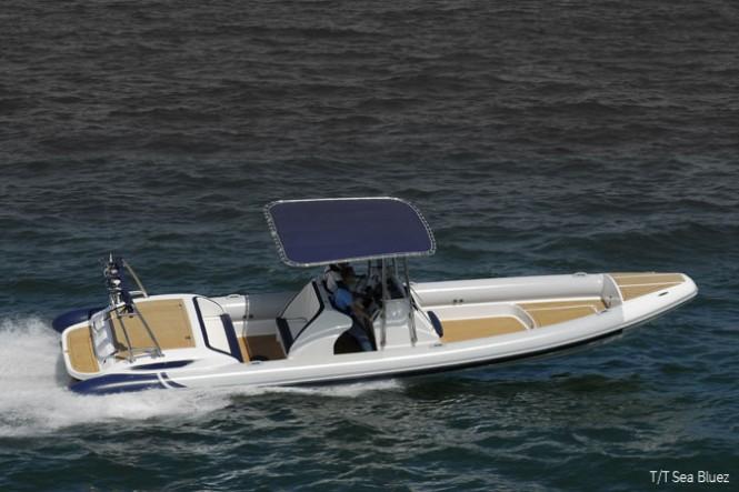 Scorpion Selene 97 T/T 120ft Benetti superyacht Sea Bluez