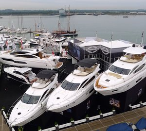 Luxury yachts by Sunseeker to be displayed at Southampton Boat Show 2013