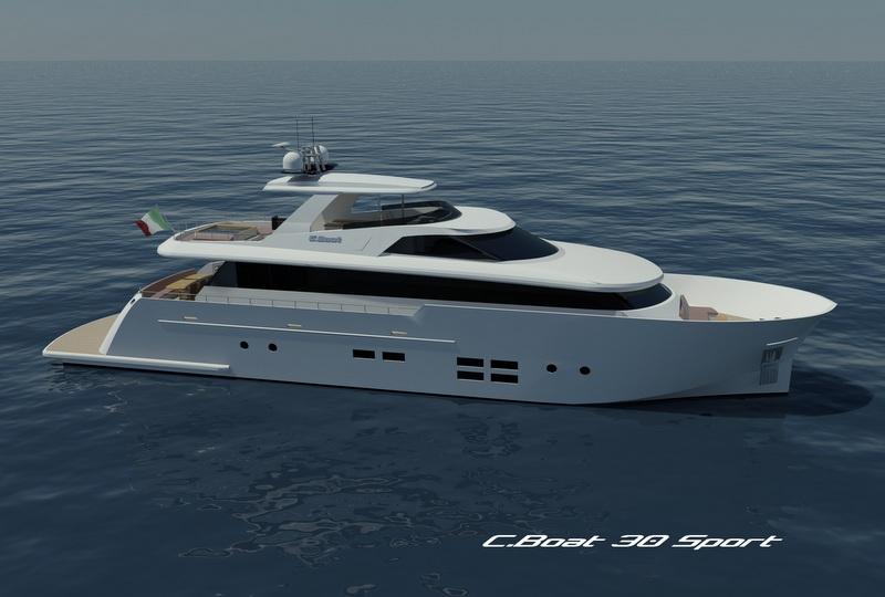 Superyacht C.Boat 30 Sport