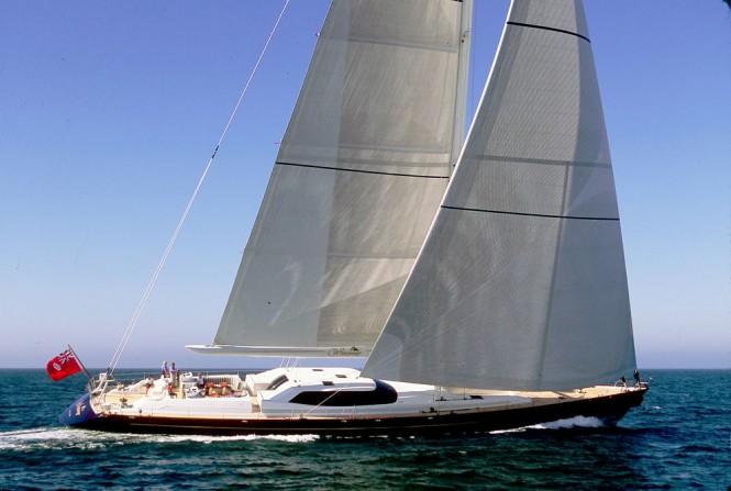 Superyacht Espiritu del Xarey - Image courtesy of Piet Brouwer