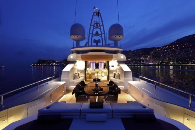 Superyacht Shooting Star - AeroCruiser 38 built by Danish Yachts Interior - Copyright 2013 Danish Yachts