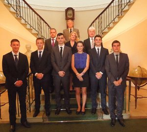 Trinity House awards bursaries worth £17,000 each to six future superyacht captains