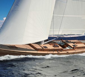 Arkin Pruva Yachts launches 90' sailing yacht TEMPUS FUGIT