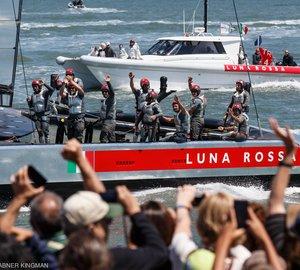 Louis Vuitton Cup Final: Luna Rossa Challenge against Emirates Team New Zealand