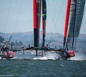 Louis Vuitton Cup 2013: Race 7 Win for Emirates Team New Zealand