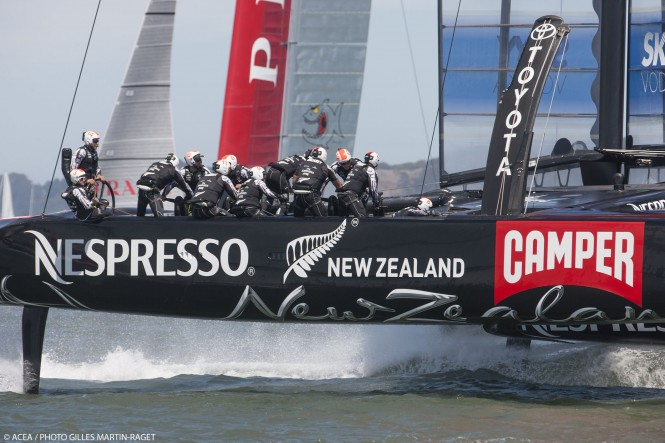 Louis Vuitton Cup Final, Day 6, Emirates Team New Zealand Vs Luna Rossa