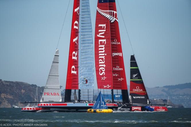 Louis Vuitton Cup Finals Race 7; ETNZ vs Luna Rossa