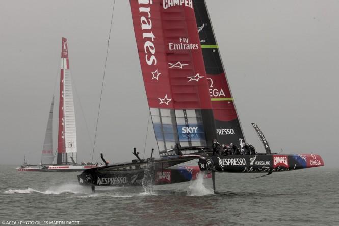 Louis Vuitton Cup Final, Day 7, Emirates Team New Zealand Vs Luna Rossa